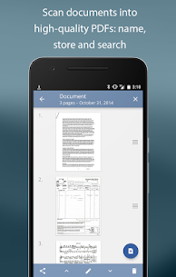 TurboScan scan documents and receipts in PDF 2