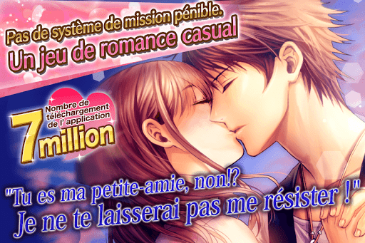 Code Triche Scandal Amoureux: Visual novel games Français APK Mod screenshots 1