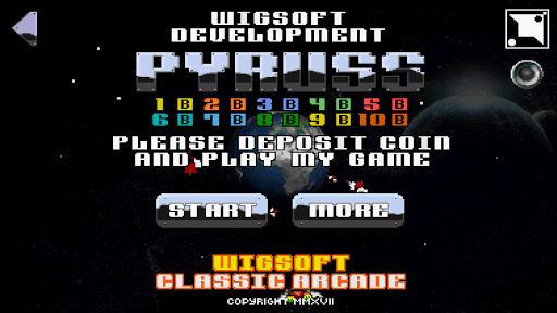 pyruss free retro classic. screenshot 1