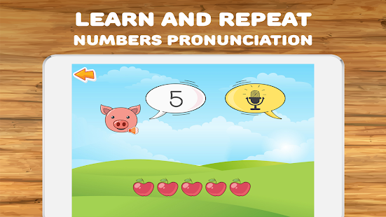 Math for kids: numbers, counting, math games 2.7.6 Screenshots 1
