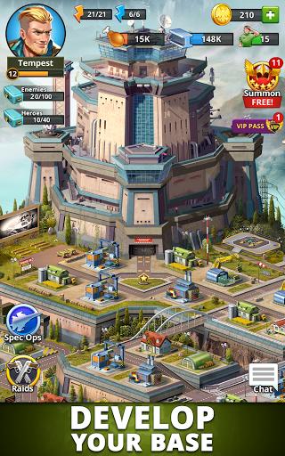 Puzzle Combat: Match-3 RPG Apkfinish screenshots 9