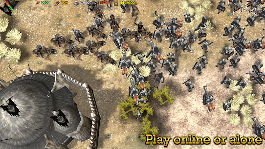 Shadows of Empires: PvP RTS Mod 0.8 Apk (Unlimited money) 4