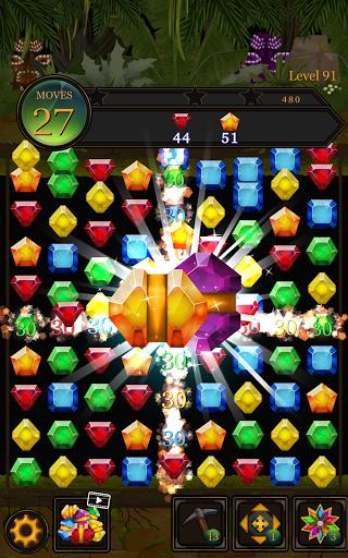 Secret Jungle Pop : Match 3 Jewels Puzzle Apkfinish screenshots 10