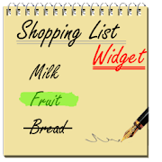 Shopping List Widget  Icon