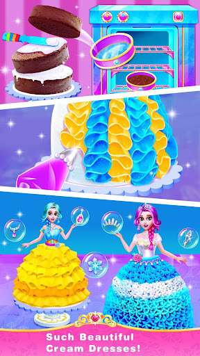 Ice Princess Comfy Cake -Baking Salon for Girls 1.6 screenshots 3