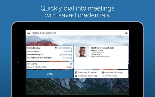 Free Conference Call screenshots 9