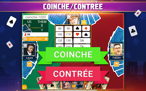 VIP Belote - French Belote Online Multiplayer Apkfinish screenshots 11