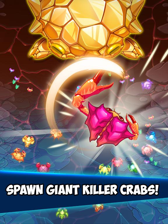 Crab War : Idle Swarm Evolution  poster 8