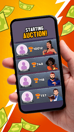 Bid Wars Stars - Multiplayer Auction Battles apkslow screenshots 6