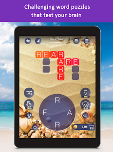 Word Beach: Fun Relaxing Word Search Puzzle Games Screenshot