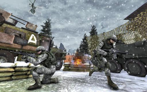 Winter Mountain Sniper - Modern Shooter Combat screenshots 12
