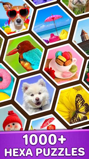 Jigsaw Puzzles Hexa ud83eudde9ud83dudd25ud83cudfaf 2.2.5 screenshots 2