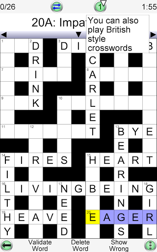 Barred Crossword 3.0.3 screenshots 10
