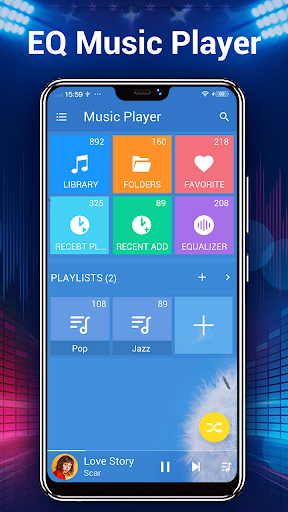 Music Player - Audio Player 3.9.0 Screenshots 2