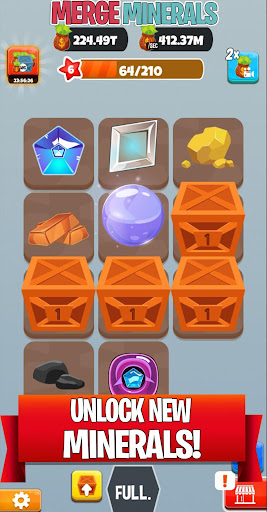 merge minerals! screenshot 2