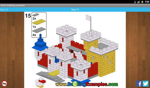 Brick building examples apkmr screenshots 12