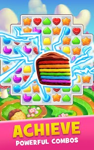 Cookie Jam Match 3 Mod Apk  Connect 3 (Unlimited Money + Lives) 3