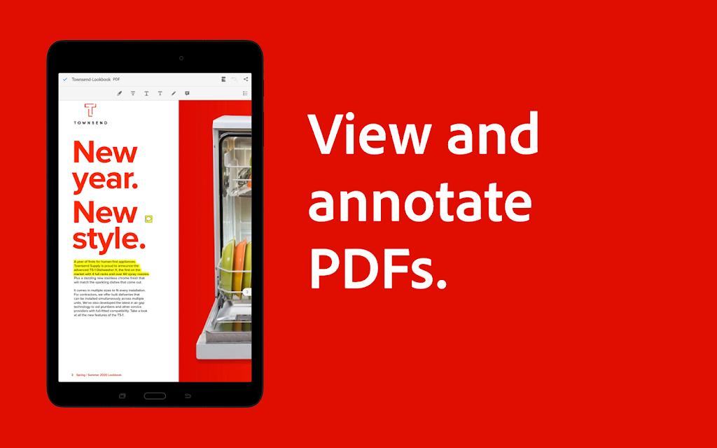 Adobe Acrobat Reader: Edit PDF poster 10