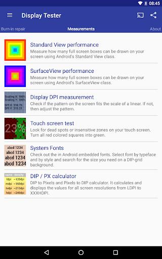 Display Tester Apkfinish screenshots 8
