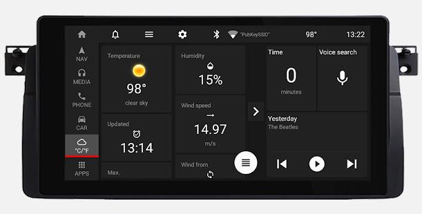 Car Penguin: Head Unit Launcher & Navigation 1.8 Screenshots 7