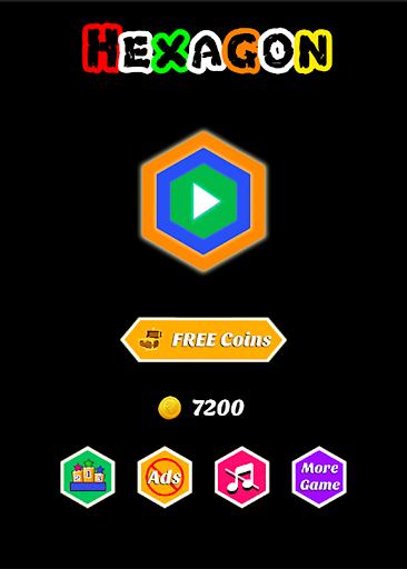 Hexagon - super hexagon, polygon 1.12 screenshots 5