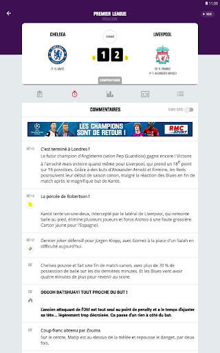 RMC Sport News - Actu Foot et Sports en direct 5.0.2 Screenshots 12