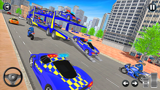 Grand Police Vehicles Transport Truck  Screenshots 7