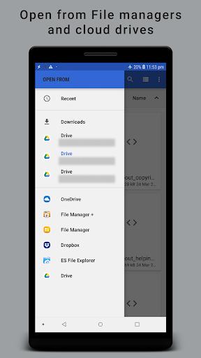 HTML Reader/ Viewer android2mod screenshots 4
