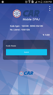 CAR Mobile SPAJ 1.2.1.3 APK Mod [Unlimited] 2