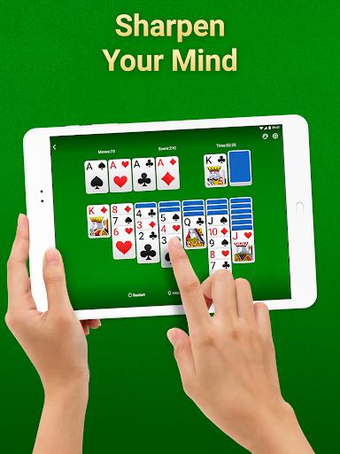 Solitaire Klondike: card games Apkfinish screenshots 8