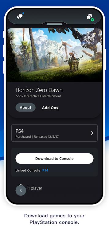 PlayStation App  poster 4