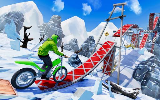 Tricky Bike Stunt Racing Games 2021-Free Bike Game  screenshots 3