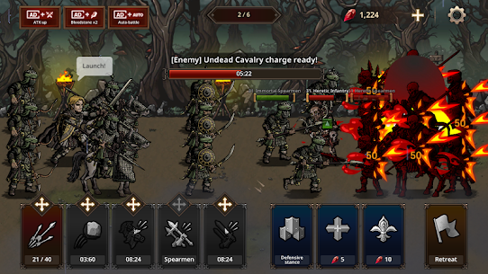 King's Blood: The Defense MOD (Unlimited Diamonds) 3