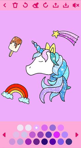 Unicorn Coloring Book ud83eudd84 2.2 screenshots 8