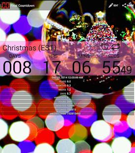 Final Countdown - Widget