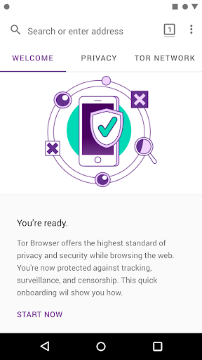 Tor Browser: Official, Private, & Secure 10.0.7 (84.1.0-Release) Screenshots 1