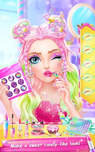 candy makeup party salon screenshot 2