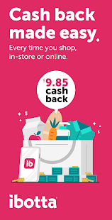 Ibotta: Cash Back Savings, Rewards & Coupons App Screenshot