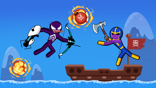Spider Stickman Fighting 3 - Supreme Duelist Apkfinish screenshots 8