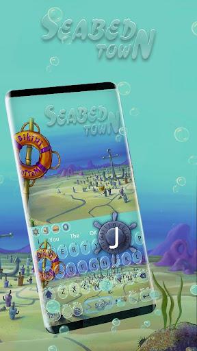 seabed town animation keyboard screenshot 2