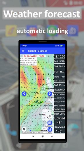 SailGrib for Virtual Regatta  Screenshots 2