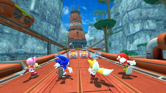Sonic Forces - Running Battle Screenshot