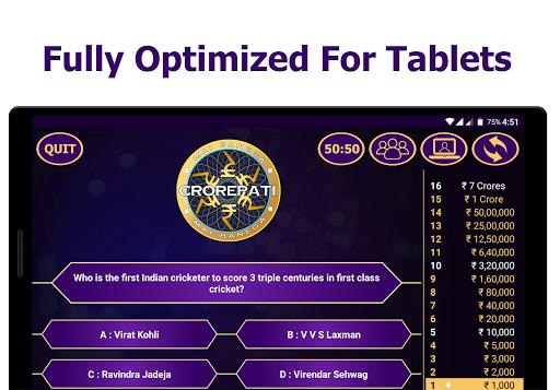 KBC 2020 Ultimate Crorepati Quiz Game poster