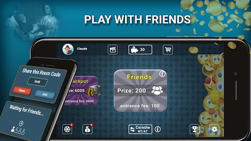 Belote Coinche Multiplayer 2.3.5 4