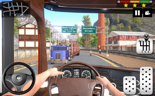 Cargo Delivery Truck Parking Simulator Games 2020  screenshots 2