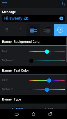 LED Banner Pro の Androidのおすすめ画像2