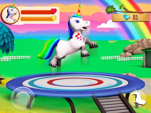Baby Unicorn Wild Life: Pony Horse Simulator Games 1.2.5 screenshots 11