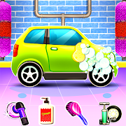 Kids Car Wash Auto Workshop Garage Service