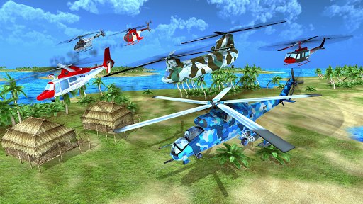 Helicopter Rescue Flying Simulator 3D screenshots 3