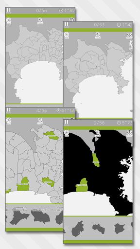 Enjoy Learning Kanagawa Map Puzzle 3.2.3 screenshots 12